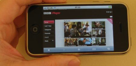 BBC iPlayer on a PC