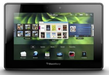 Blackberry Playbook with OS2