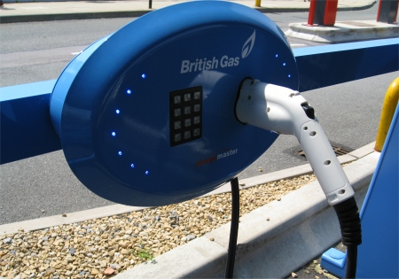 British Gas EV Charging Point