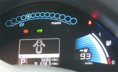 Nissan Leaf - Power Remaining Indicator