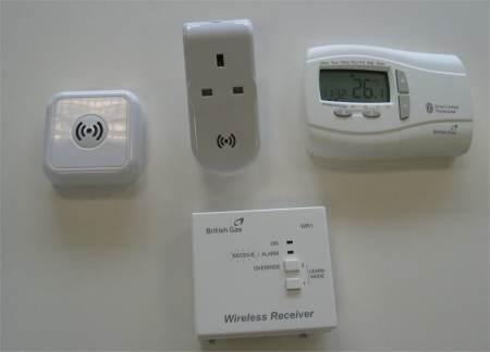 Remote Heating Control White Boxes