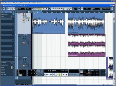 CuBase 4LE Screenshot