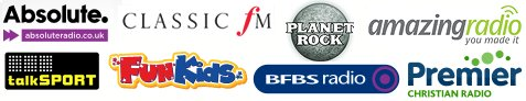 Commercial Radio DAB Stations