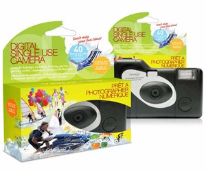 Disposable Digital Cameras