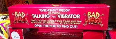 Ever Ready Freddy in his box