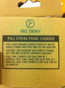 Free Energy Charger Box Rear