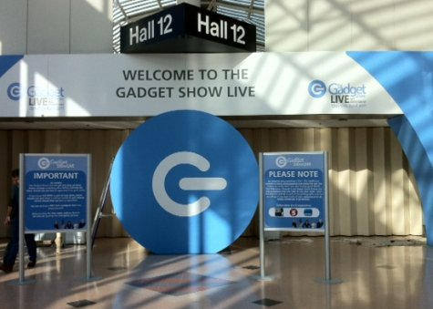 Main Entrance to Gadget Show Live 2011 at the NEC