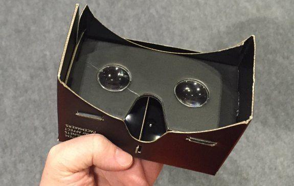 Basic Google Cardboard VR headset