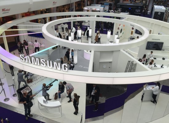 Samsung stand at Gadget Show Live 2015 Westfield