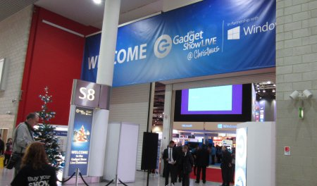 Entrance to Gadget Slow Live at London Excel