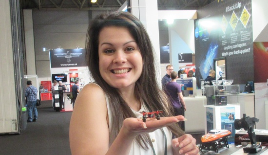 Kelly, hands-on with a tiny drone