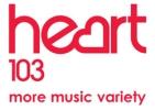 Heart 103 logo