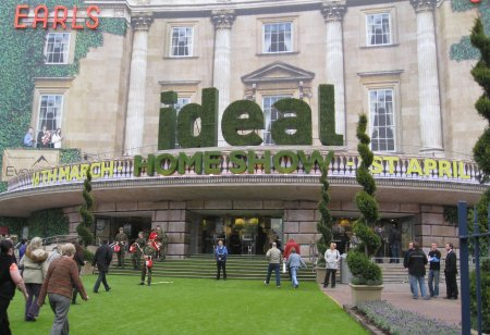 Ideal Home Show 2012 - Earls Court Exterior