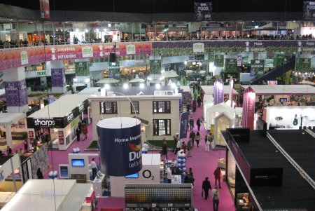Inside The Ideal Home Show 2012