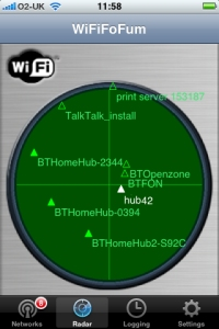 WiFiFoFum for iPhone