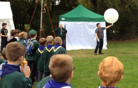JOTA 2014 - Chros Stubbs Balloon Launch