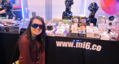 Kelly with MI6 Spy Gadgets!