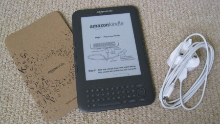 What's supplied with the Kindle