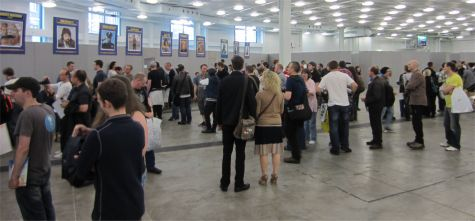The signing room at LFCC 2012