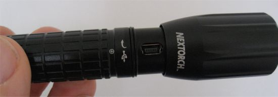 The Nextorch myTorch AA Smart Torch