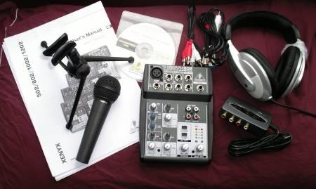Behringer Podcastudio Podcasting Kit Reviewed