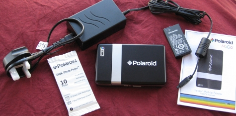 Contents of the Polaroid Pogo Box