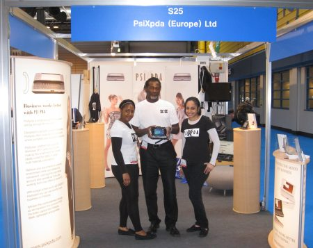 psiXpda stand at Gadget Show Live