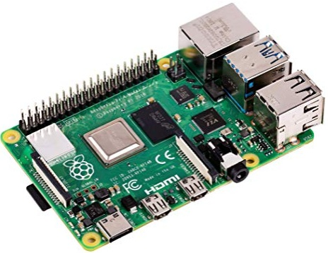 The Raspberry Pi 4 mini-computer