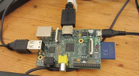 Raspberry Pi Board Connected
