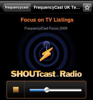 FrequencyCast on Shoutcast
