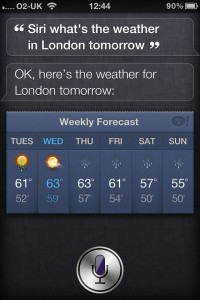 Siri - Weather