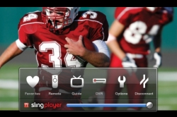 Slingplayer on the iPhone