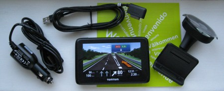 TomTom Live 1000 Contents
