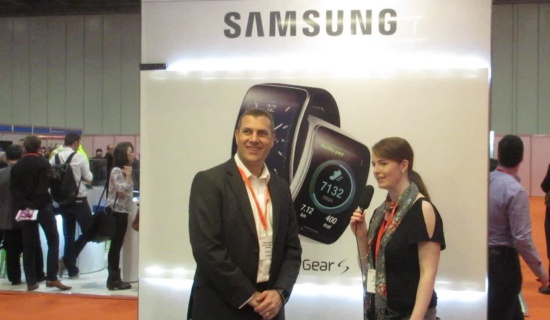 Samsung at Weatable Tech 2015